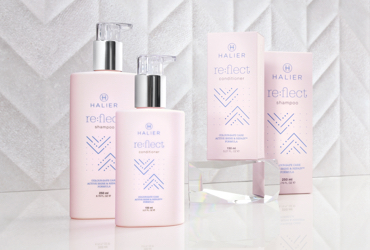 The collection is the best solution for colour-treated hair. The products restore shine and prolong colour vitality.